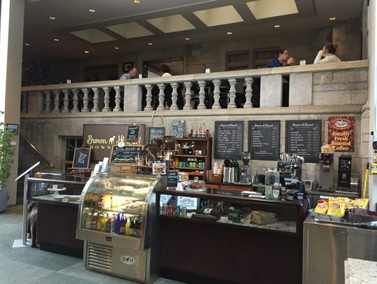 Brown Hound Bistro is located in the Memorial Art Gallery
