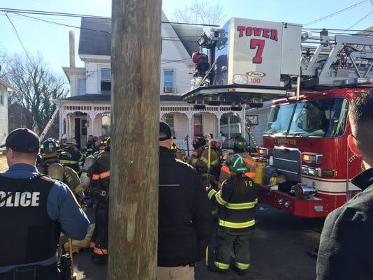 Cottage Avenue fire