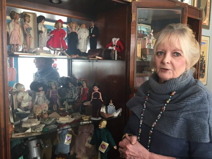 Kerry Murphy has hundreds of dolls on display in her