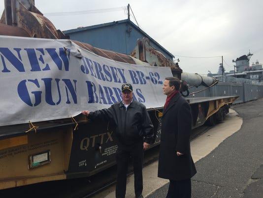 636528566530255746-2-battleship-16-inch-and-50-caliber-gun-barrels-arrive-via-rail-to-BB-62-museum-in-camden-jan-29-2018.JPG