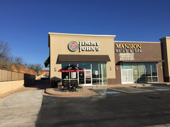 Jimmy John's sandwich shop located at 5770 Sherwood