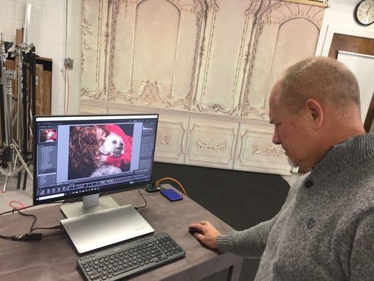 Daniel Rude Photography studio is located on Telegraph