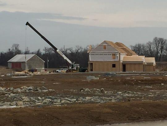Lancaster-based Kenneth Homes has begun construction