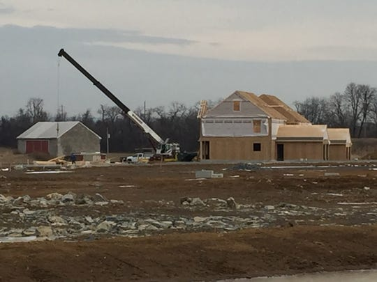 Lancaster-based Kenneth Homes has begun construction