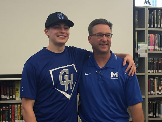 McNary shortstop Collin Wentworth with Celtics baseball