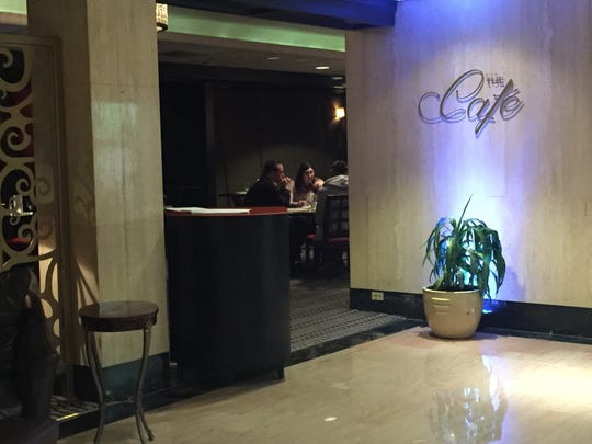 The eatery next to the Hotel du Pont's Green Room was formerly called the Lobby Lounge. Now, it's known as The Cafe.