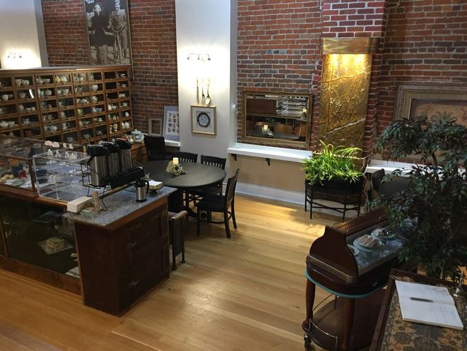 Feather Your Nest's new tea room opens the week of