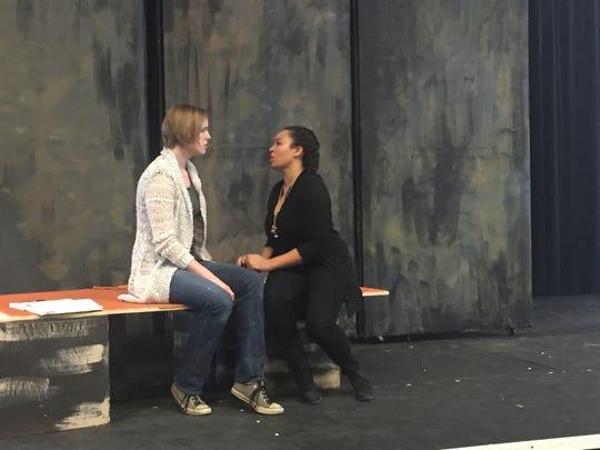 Opera singers in Saltworks Opera's production of Romeo