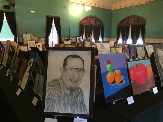 Student artworks will be on display at Pemberville's