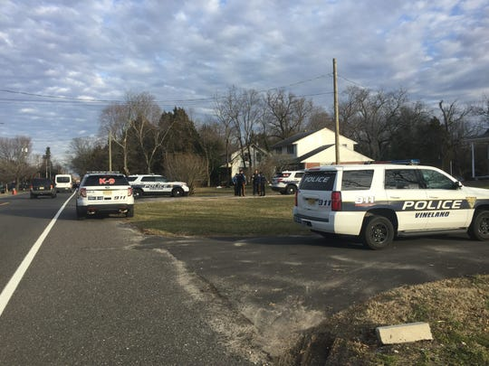 Vineland Police, along with K-9 teams, are searching