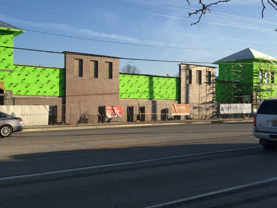 Progress continues on the Shoppes of Anderson Towne