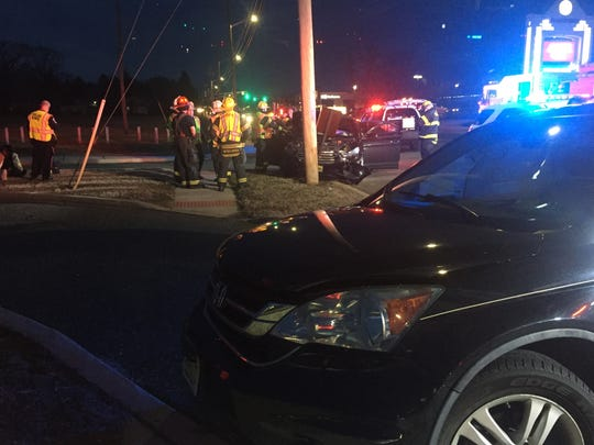Vineland Police, fire and EMS responded to a two-vehicle