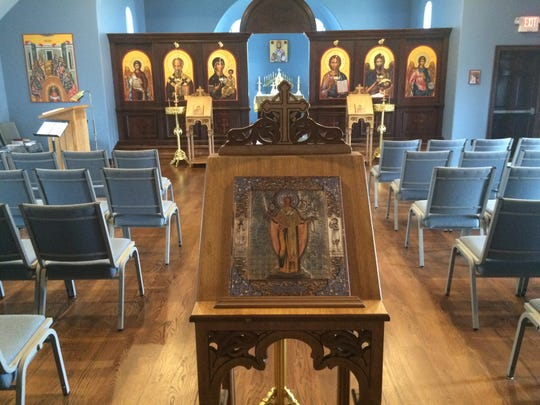The sanctuary of St. Nicholas Orthodox Christian Church in Jackson is where members will take part in various services of preparation and remembrance leading up to Easter beginning this weekend.