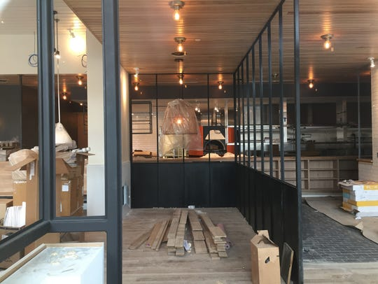 Construction continues on Hedge Row American Bistro