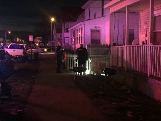 Police were initially called to the area of East Oak