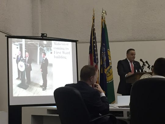 Mayor Richard David delivered his fifth State of the