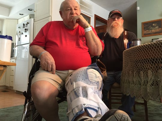 Donald Hacker and his son Dennis Hacker discuss the