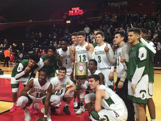 The top-seeded St. Joseph (Met.) basketball team won