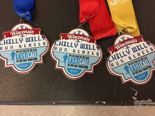 Chilly Willy race medals