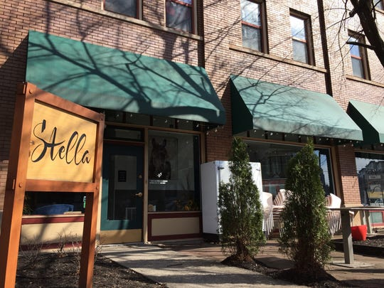 Stella restaurant, 611 East St., at Mass Ave., ended