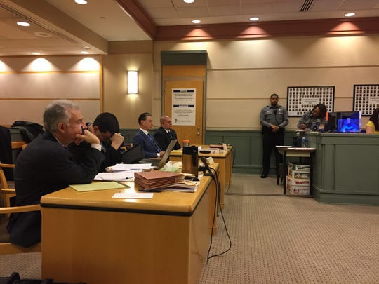 A pre-trial motion hearing was held Monday in Cumberland