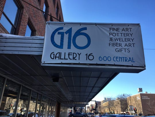 Gallery 16 is at 600 Central Avenue in downtown Great