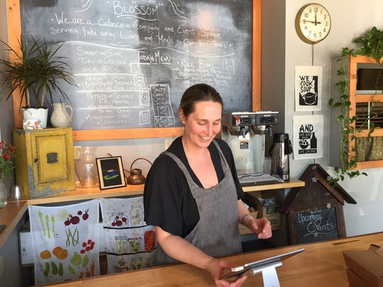 Tessa Blossom Holmes opened Blossom in Winooski a year and a half ago.
