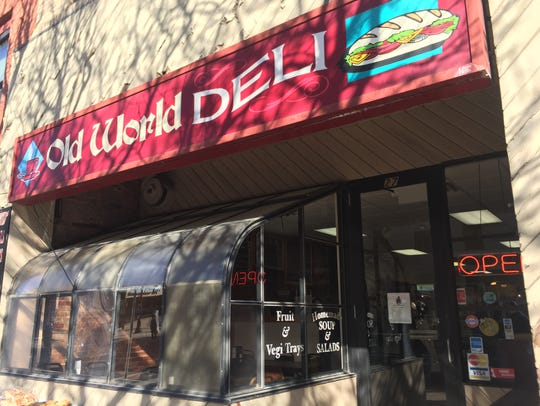 Old World Deli is located at 27 Court St., Binghamton.
