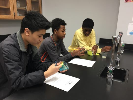 Thomas Edison EnergySmart Charter School students have