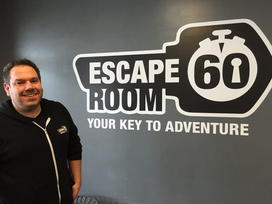 Tim Haddock is a co-owner of Escape Room 60 in Williston.