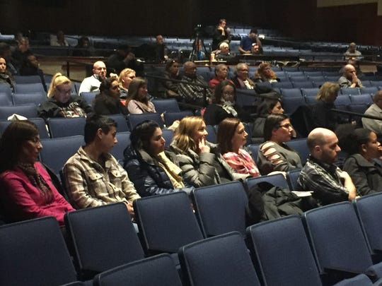A less-than-capacity audience attended a Cherry Hill