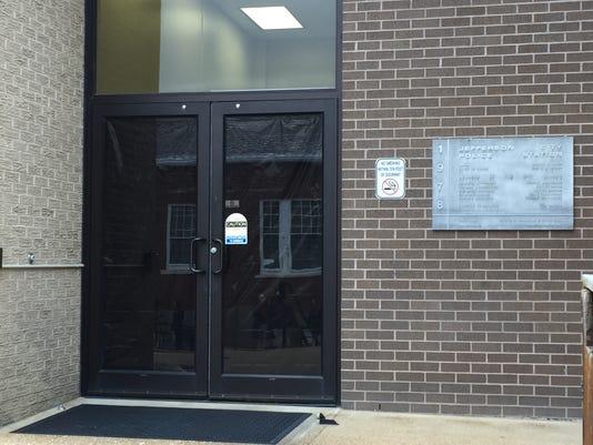 JCPD Door tarp