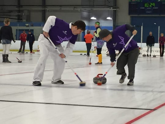 The Howard Center Curling Challenge at Cairns Arena in South Burlington has raised nearly $500,000 in its nine years.