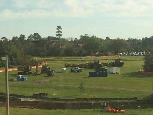 Moncus Park construction starts