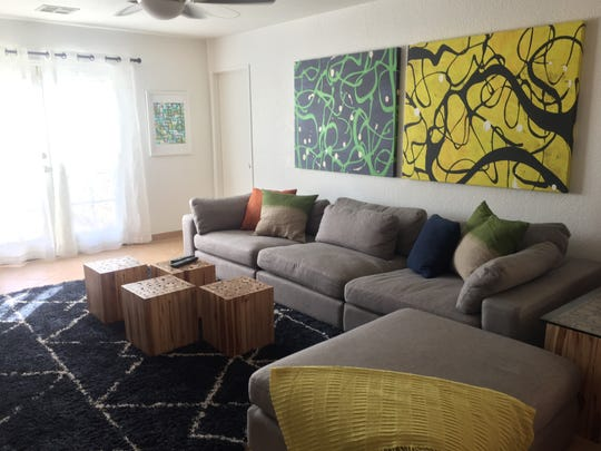 The interior of Sanctuary Palm Springs' facility, which provides transitional housing for LGBT youth aging out of the foster care system.