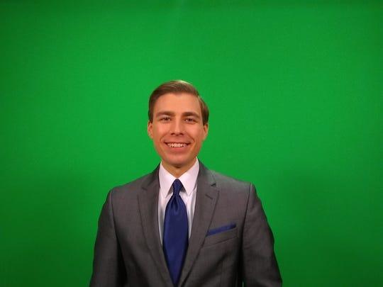 Meteorologist Drew Anderson