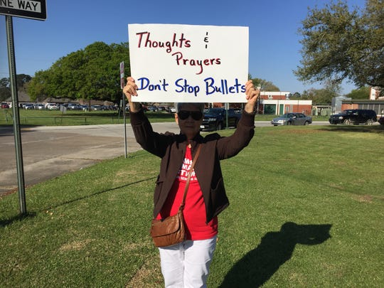 Lenora Meaux, a Lafayette resident, said she wanted
