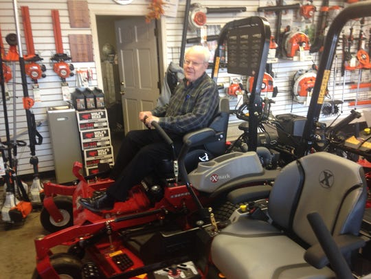 Shupe carries the top-of-the-line eXmark riding mowers.