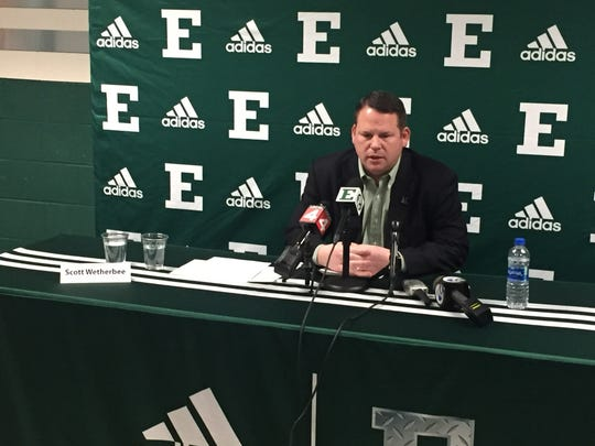 Eastern Michigan University Athletic Director Scott
