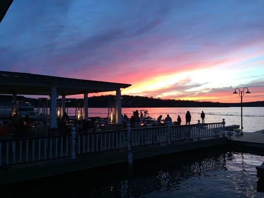 Sunset at The Windlass