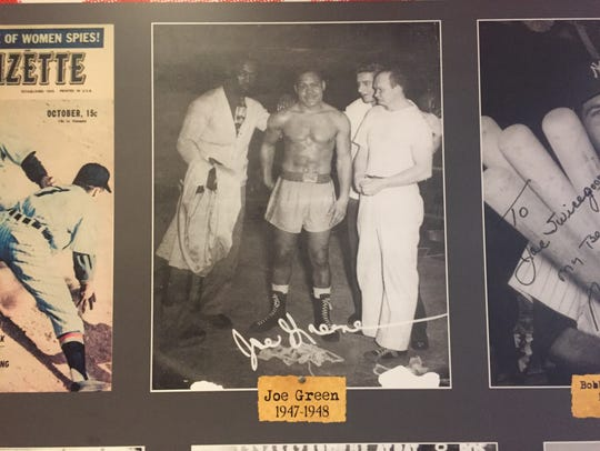 """""""Mean"""" Joe Greene, a professional middleweight boxer,"""