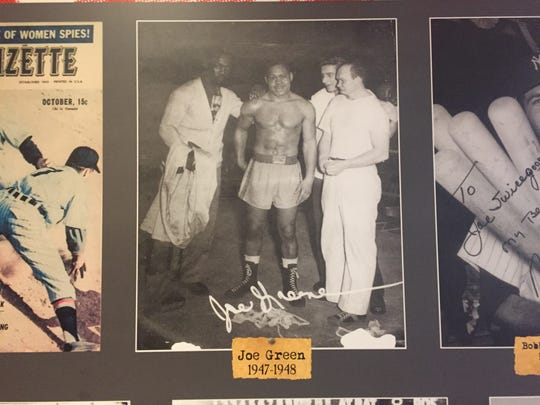 """Mean"" Joe Greene, a professional middleweight boxer, was once a regular at Little Pigs BBQ."