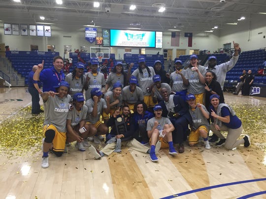 The TCC women's basketball team won five games in as many days to win the NJCAA Division I Women's Basketball Championship in Lubbock, Texas, Saturday night.