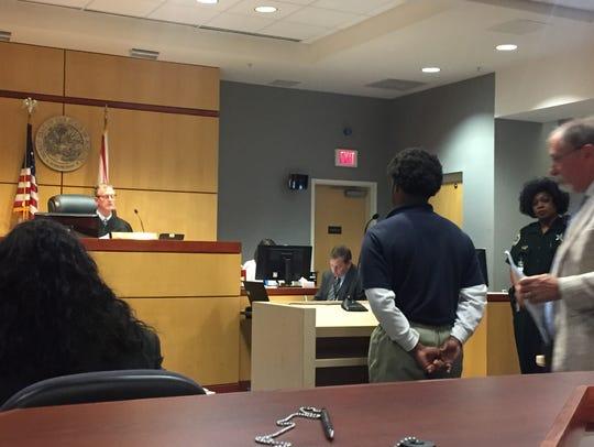 Police arrested 17-year-old Erien Dah'mir Jaquez Hampton