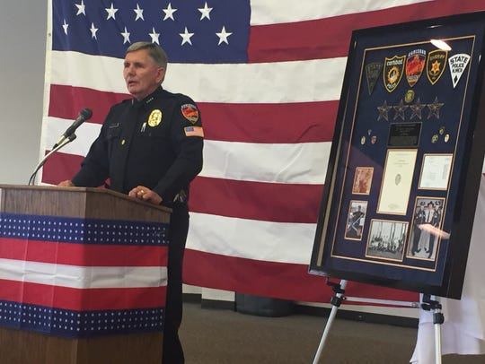 Police Chief Kent Waller has served in law enforcement