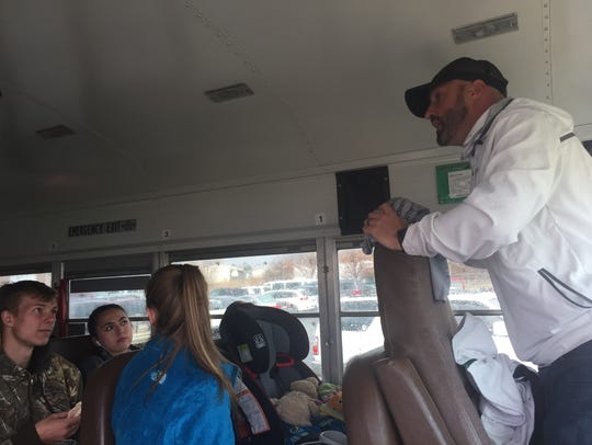 Heritage Christian Academy track coach Joe  Packard