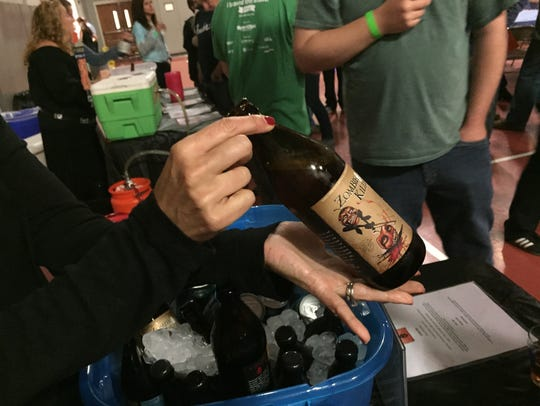 Scenes from JCC Bridgewater's Beer Festival last year.