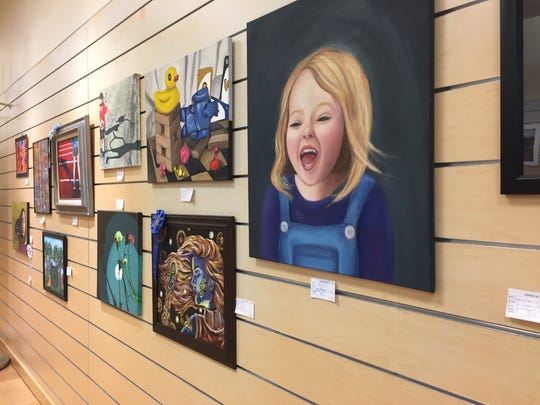 "The Fine Arts Society of the Southern Tier's Young at Art Show was shown in the former ""Gymboree"" the Oakdale Mall from March 6 to 30."