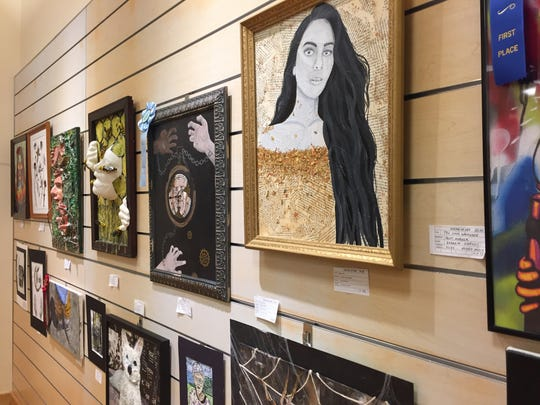 The Fine Arts Society of the Southern Tier's Young at Art Show and Competition was featured in the former Gymboree in the Oakdale Mall from March 6 to 30.