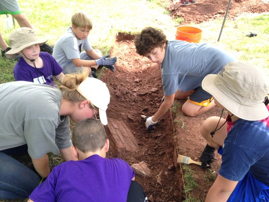 Registration open for archaeology camp PHOTO CAPTION
